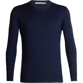 Icebreaker Shearer Sweat-shirt à col ras-du-cou Homme, midnight navy